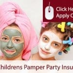Cheap Childrens Pamper Parties Self Employed Liability Insurance